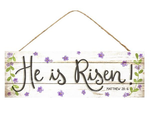 "15"" He is Risen Sign"