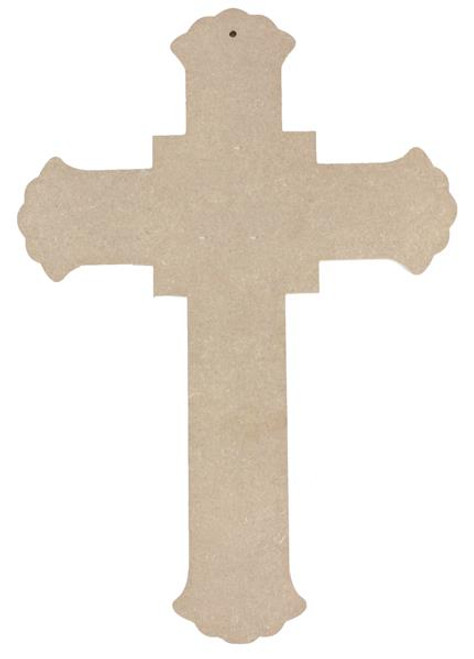 """15.75"""" Cross, Unfinished"""
