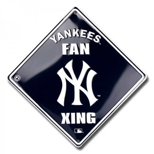 "12"" Yankees Fan Xing Sign"