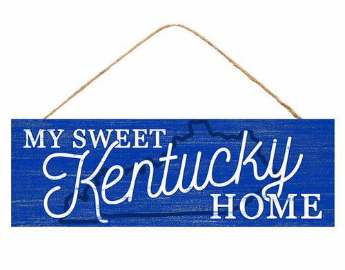 "15"" Sweet Kentucky Home Sign"