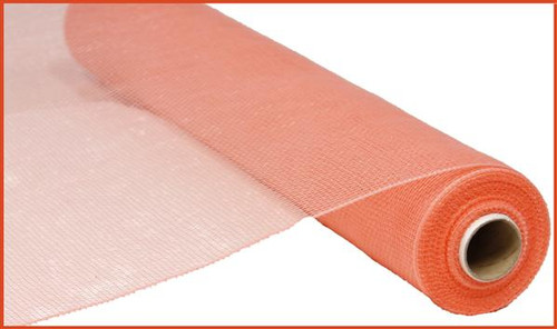 "21"" Deco Poly Mesh: Coral"