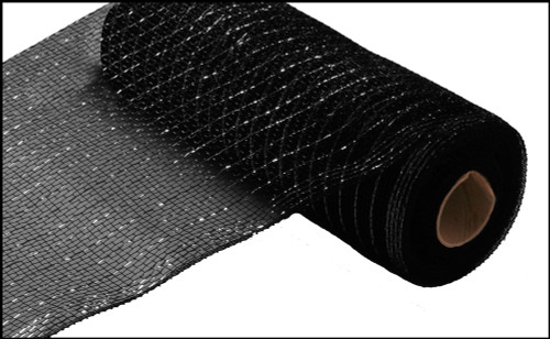 "Metallic Black with Black Foil - 10"" X 10Yd (RE130102)"