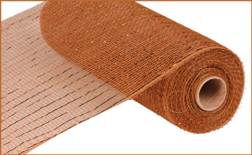 "Metallic Brown with Copper Foil - 10"" X 10Yd (RE130104)"