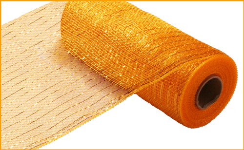 "Metallic Bright Gold with Gold Foil - 10"" X 10Yd (RE130153)"