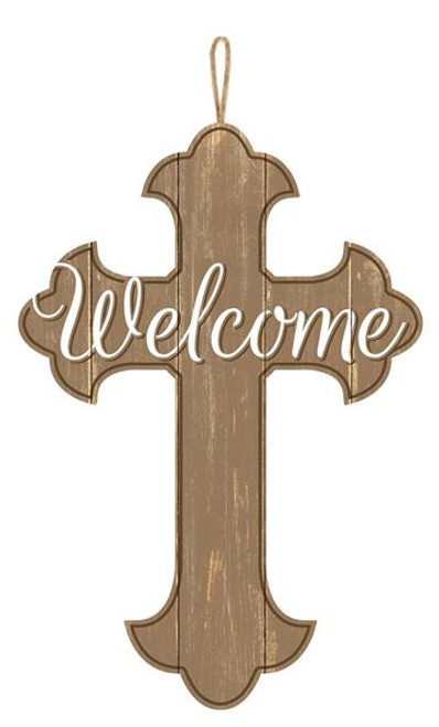 "16"" Welcome Cross"