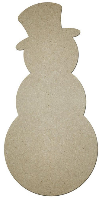 """16"""" Unfinished Snowman"""