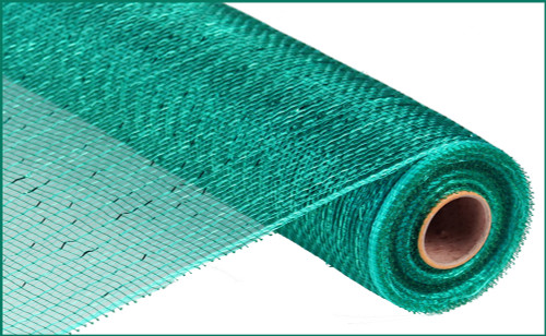 """Metallic Teal with Teal Foil - 21"""" x 10yd (RE100160)"""