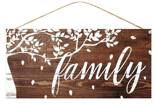 "12.5"" Family Tree Sign"