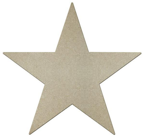 """13"""" Star, Unfinished"""