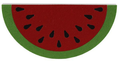 "12"" Foam/Felt Watermelon Hanger"