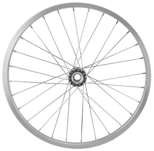 "16.5"" Decorative Bicycle Wheel: Aluminum"