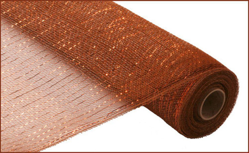 """Metallic Brown with Copper Foil - 21"""" X 10Yd (RE100104)"""