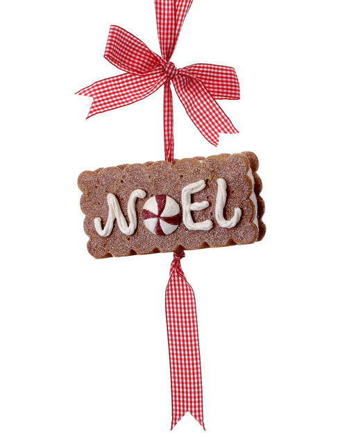 NOEL Ice Cream Sandwich Ornament
