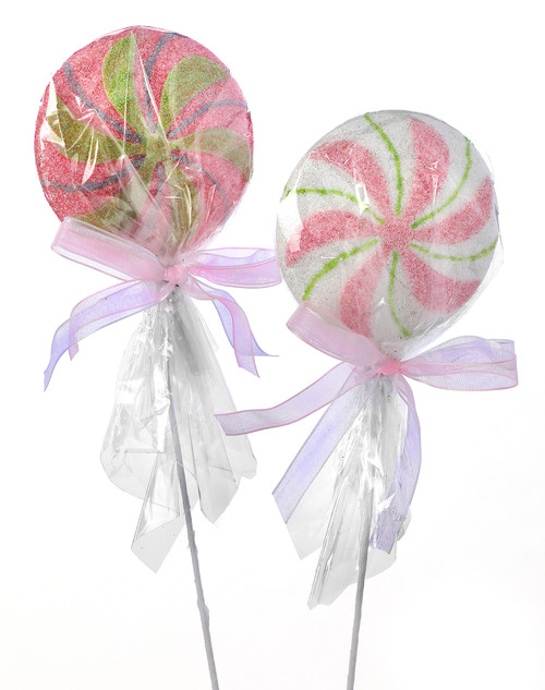 "12"" Wrapped Lollipop Pick"