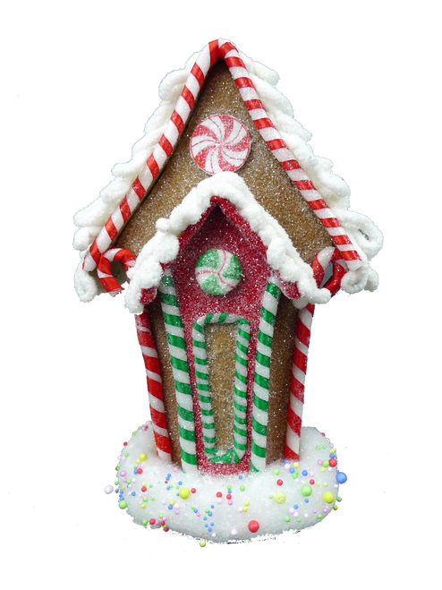 "13"" Candy Gingerbread House"