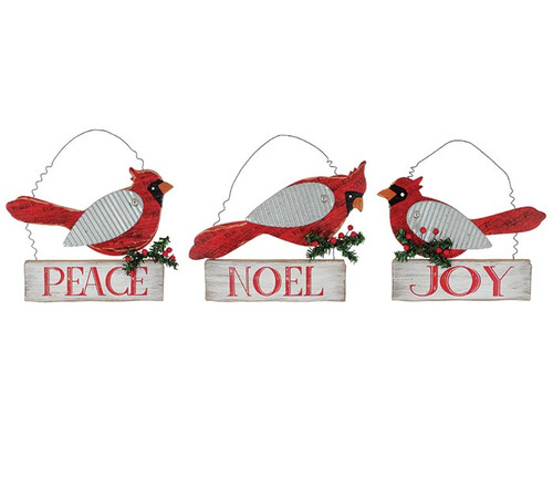 Holiday Cardinal Hanger