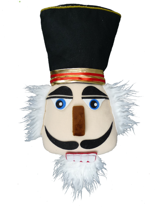 Plush Nutcracker Head