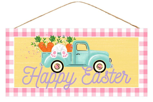 "12.5"" Happy Easter Truck Sign"