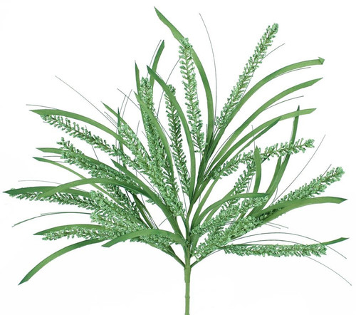 "22"" Heather Grass Bush: Green"
