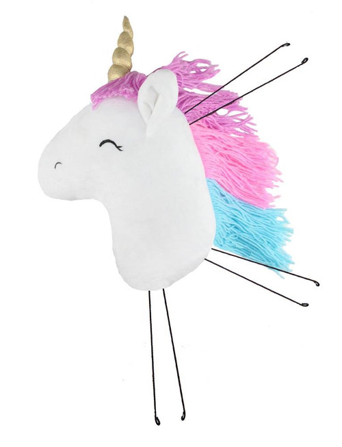 "16"" Plush Unicorn Head"