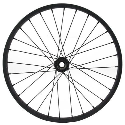 "16.5"" Decorative Bicycle Wheel: Black"