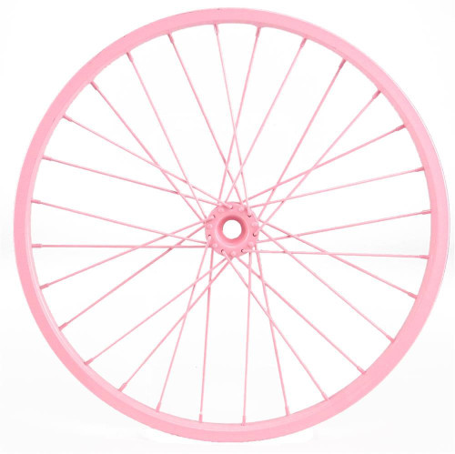 "16.5"" Decorative Bicycle Wheel: Pink"
