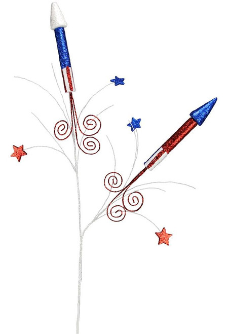 "32"" Patriotic Rocket Spray"