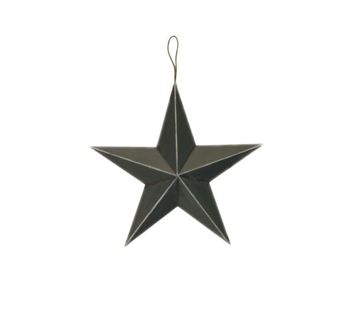 "8"" Metal Star: Antique Black"
