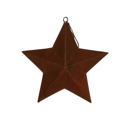 "Rusty 7"" Metal Star"