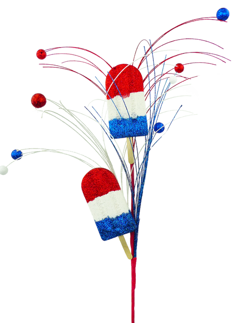Patriotic Popsicle Spray - 28""