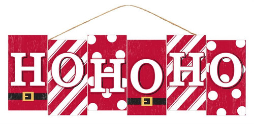 "14"" HoHoHo Block Sign"