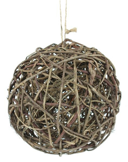 "4"" Grapevine Ball Ornament"