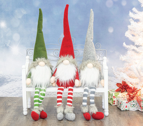 Dangle Leg Winter Gnomes