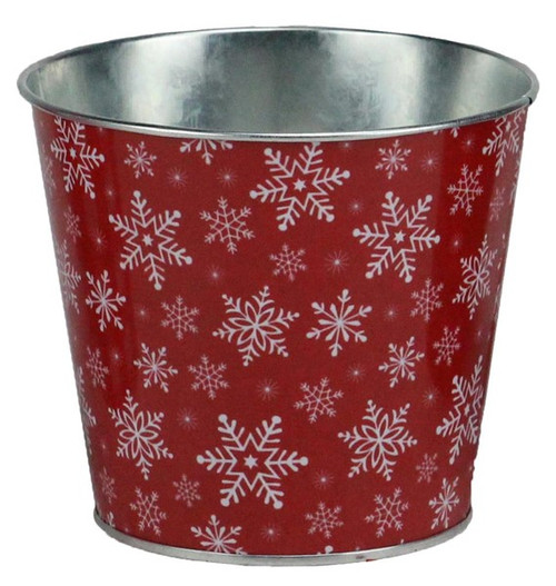 "5"" Snowflake Pot Cover"