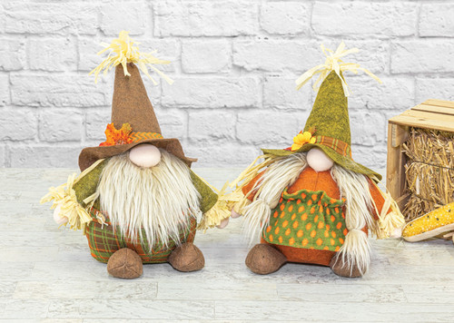 "12"" Harvest Gnome Sitters"
