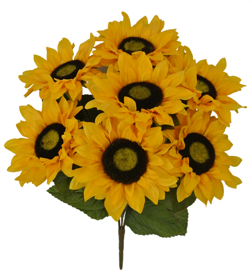 "19"" Sunflower Bush: Yellow (7)"