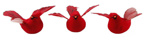 "6"" Flying Cardinal w/ Clip"
