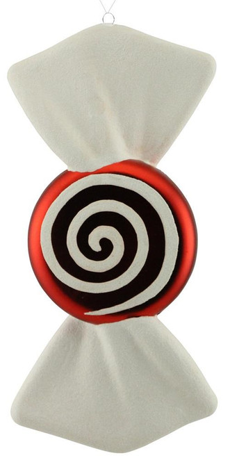 "11"" Peppermint Candy Swirl Ornament"