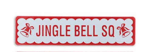 "16"" Jingle Bell Sq Street Sign"