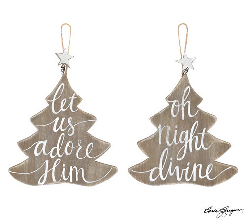Natural Christmas Tree Ornaments