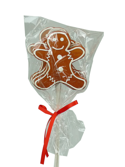 "12"" Gingerbread Man Pick x 6"