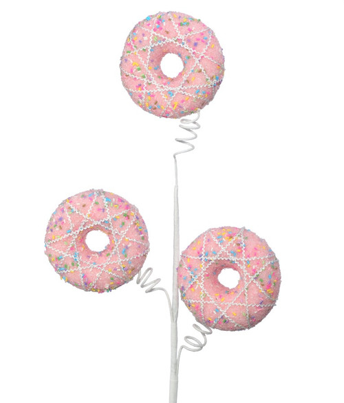"24"" Pink Sprinkle Donut Spray"