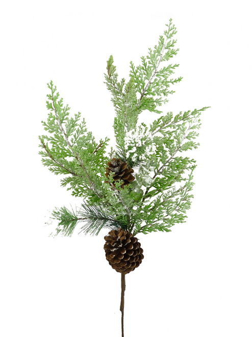 "28"" Mixed Christmas Greenery Spray"
