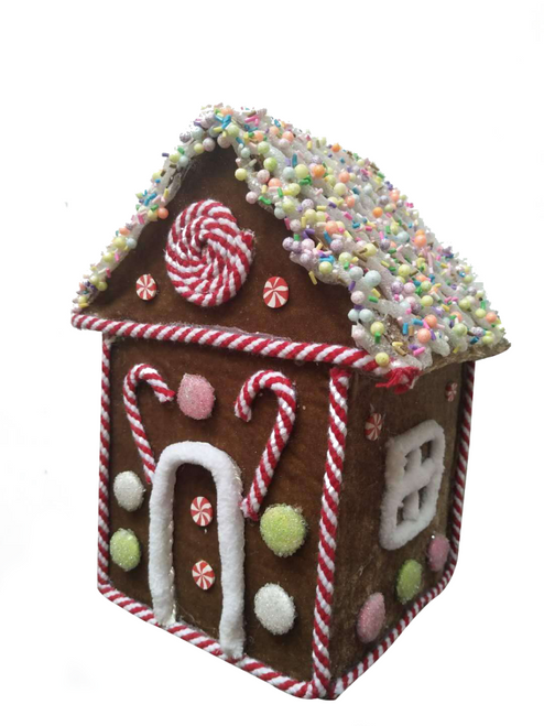 "8"" Gingerbread House"