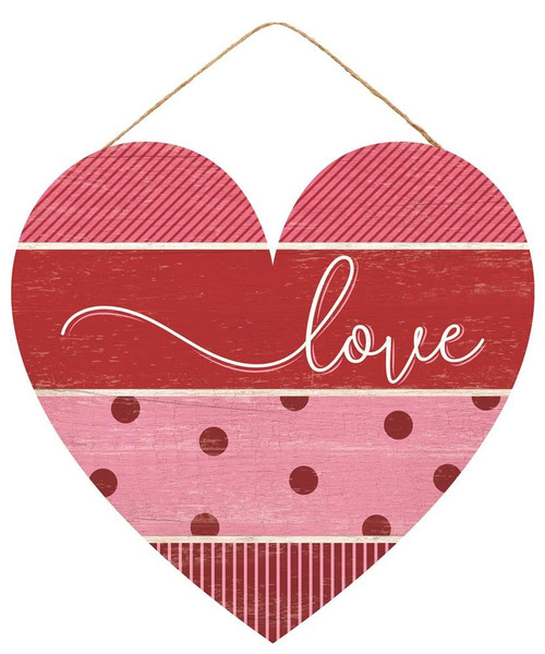 "12"" Love Pattern Heart Sign"
