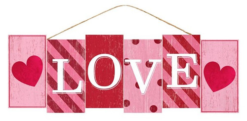 "14"" Love Block Sign"