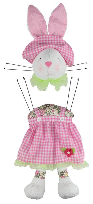 2 Pc Garden Bunny Girl Kit