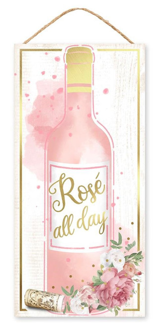 "12.5"" Rose All Day Sign"