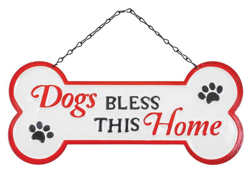Dogs Bless This Home Hanger