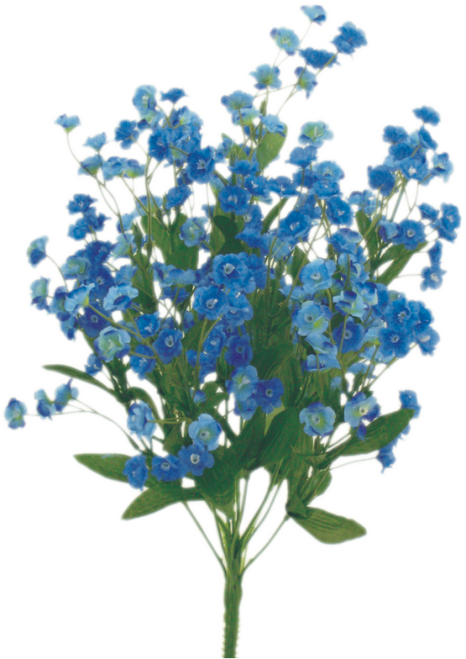 "18"" Baby's Breath Filler: Blue"